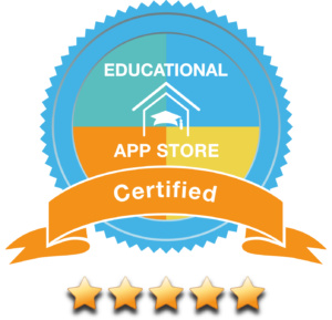 The Walking Classroom Podcasts app earned a 5-star rating from educational app store