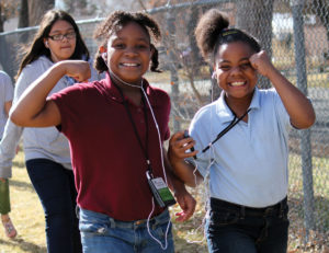girl power with The Walking Classroom